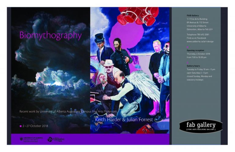 Biomythography-Exhibit-Julian-Forrest-Keith-Harder-FAB-Gallery-from-Oct-2-to-27-1-768x497